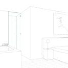 Salle de bain – Vue chambre